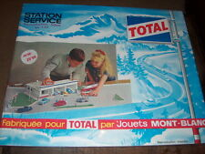 Station service total jouet Mont blanc