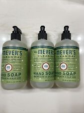 Limited edition Mrs. Meyers Clean Day Iowa Pine Scent Hand Soap *New- 3 bottles