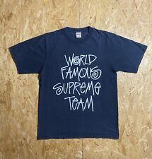 Supreme / World Famous Team / SS-01 T Shirt Size L / Box Logo Kermit Moss TNF