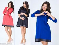 3/4 Sleeve Synthetic Plus Size Maternity Dresses