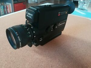 Canon 514XL - Super 8 Cine Film Movie Camera - Fully Working With Carry Case