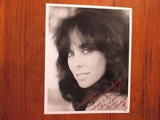 "LYNNE  RANDALL(""Scrooged/Rich Man, Poor Man"")Signed 8 x 10  Black & White Photo"