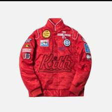 KITH RACING JACKET - RED - SIZE XL