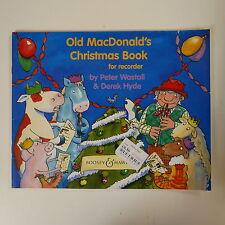 Old MacDonald's Christmas Libro Para Grabadora, Peter WASTALL/Derek Hyde