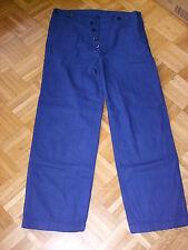 Arbeitshose Stallhose Monteurhose  Baumwolle blau Gr. 54 - NEU