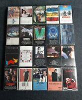 Lot Of 20 Vintage 80's Cassette Tapes Rock/ Pop