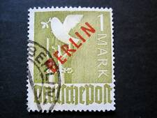 Berlin MiNr. 33 ROTAUFDRUCK gestempelt GEPRÜFT Schlegel BPP (J 846)