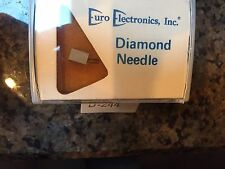 D244 Needle, EURO ELECTRONICS DIAMOND NEEDLE D-244 NEW OLD STOCK Evg Pm2560d