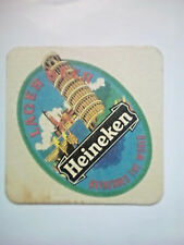 Vintage  HEINEKEN BEER -  Cat No'75  Beermat / Coaster