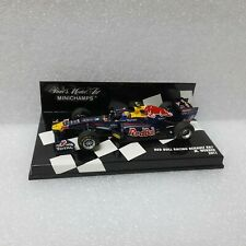 RED BULL RACING RENAULT RB7 Minichamps 1/43 #410110002
