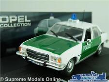 OPEL REKORD D MODEL CAR POLIZEI POLICE 1:43 SCALE IXO COLLECTION 1972-1977 K8