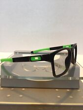 <<<Oakley Catalyst Matte Black Frame Green Icons Fast Free S/H >>>