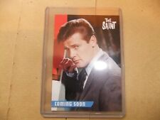 ROGER MOORE THE SAINT UNSTOPPABLE PROMO CARD PR3 ITC PERSUADERS JAMES BOND