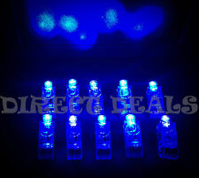 100 PC LIGHT UP BLUE LASER FINGER LED RING RAVE PARTY FAVORS GLOW BEAMS TORCH