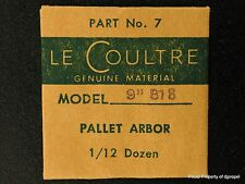 Jaeger LeCoultre Pallet Arbor Cal 818 Part # 714 (7) New Old Stock