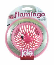 Joie  Flamingo  Pink/Silver  Sink Strainer