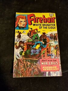 IW Silver Age FIREHAIR White Daughter of the Sioux Western Comic Book # 8