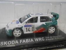 SKODA FABIA WRC RALLY TOUR DE CORSE 2003 AURIOL ALTAYA IXO 1/43