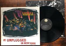 Nirvana – MTV Unplugged In New York LP + insert vinyl Grunge David Bowie indie