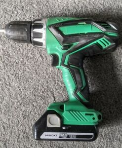 HiKoki Hitachi Cordless 18v Combi Hammer Impact Drill Driver 2.5Ah Battery