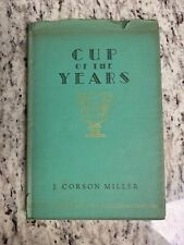 """1934 Antique Poetry Book """"Cup of the Years"""""""
