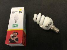 Trio 974-02 Energiespar Leuchtmittel E14 9 watt Miniglobe 2700 K 9w