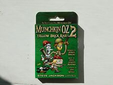 Munchkin Jeu de carte: OZ EDITION 2 brique jaune RAID Expansion