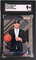 Luka Doncic 2018-19 Panini Prizm Luck of the Lottery Rookie SGC 9 Mint