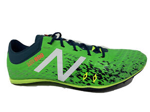 New in Box New Balance Track Cleats Spikes Men's Size 13 Green MMD800G5 MD800