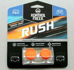 KontrolFreek Rush - Brand New Sealed - Performance Thumbsticks - PS4 - Orange