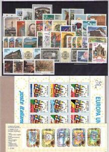 ITALIA ANNATE COMPLETE DAL 1986 AL 2000 A SCELTA NUOVE ** MNH