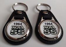 1964 CHEVY NOVA SS KEYCHAIN 2 PACK CLASSIC CAR LOGO