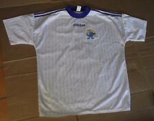 ancien maillot de football vintage ADIDAS DANONE CUP PORTE FRANCE 98 WORLD CUP