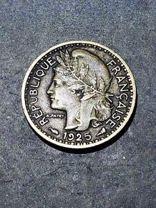 1925 Togo (French Mandate) 50 Centimes Coin #9992