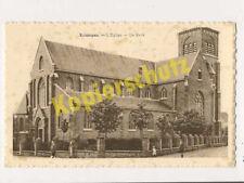 AK Buizingen Flämisch-Brabant Kirche des Heiligen Vincentius um 1920