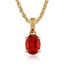 Anhänger mit Edelsteinen Feuer echten Opal-Hauptstein für Damen
