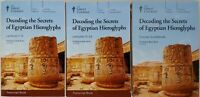 Great Courses Decoding the Secrets of Egyptian Hieroglyphs (2016, DVD/Book) NEW
