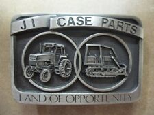 Vintage 1986 JI Case Parts Land of Opportunity** Tractor Belt Buckle SN:  2359
