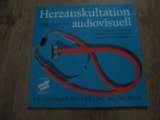 Vinyl12 Herzauskultation audiovisuell Textheft+76 Beispiele German Press 1973