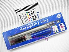 Pilot Calligraphy P-FP-120R-60 Parallel Pen 6.0mm Nib + 12 Colors Cartridges