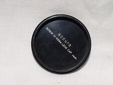 ACCURA 49mm metal screw in front lens cap Japan #01166