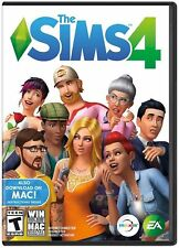 The Sims 4 Windows PC or MAC Video Game Simulation EA *NO ACTIVATION CODE*