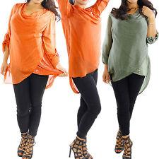 Locker sitzende Damenblusen, - tops & -shirts aus Seide ohne Muster