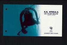 (SBAZ 223) Alderney 1999 MNH BOOKLET UPU 125th Anniversary S S STELLA SHIP
