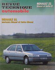 RENAULT 21 R21 diesel turbo diesel td depuis 1988 Revue technique RTA CIP 487.5