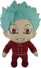 Seven Deadly Sins 8'' Ban Plush Anime Manga NEW
