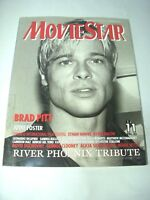 MOVIE STAR Japanese Magazine 1997 Brad Pitt River Phoenix Japan
