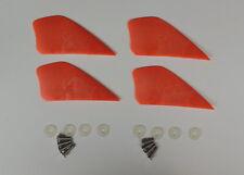 kitesurfing kiteboarding 4 pcs 2.25 inch fins for kiteboard kite board surfing--