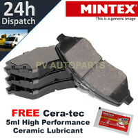 FRONT BRAKE PADS SET FOR TOYOTA AYGO (2005-2010) BRAND NEW MINTEX