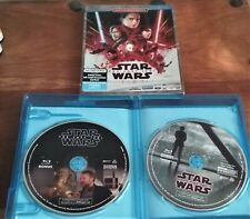 Star Wars The Last Jedi w/Slipcover FREE SHIPPING Blu-ray Multi-Screen Edition
